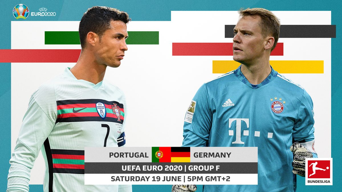Portugal v Germany Combined XI